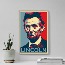 Abraham Lincoln Art Print And039hopeand039 - Photo Poster Gift