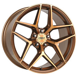 22x8.5 22x10 5-120 Str908 Staggered Bronze Tint Made For Bmw 2015 Or Older Bmw 7