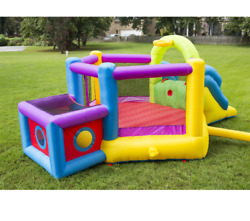 Magic Time Bounce N Play Super Fort Sport Bouncer