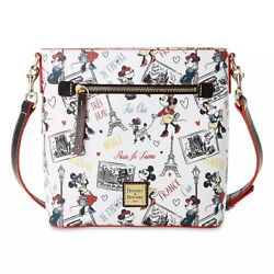 NWT Minnie Mouse Très Chic Crossbody by Dooney amp; Bourke Paris $230.00