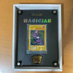 Yu-gi-oh Black Magician43000 Collectable Card 20th Anniversary Unopened Limited