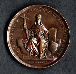 Holy See Vatican City Medal To Honor Pope Leo Xiii 1879 Engraved By F. Bianchi