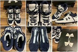 Christian Yelich Under Armour Sample Pe Cleats Player Sample Milwaukee Brewers
