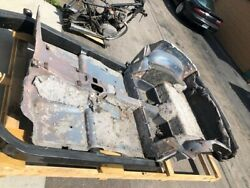 1964-67 Corvette Chevrolet Floor Pan Tub Complete From Fire Wall To Back