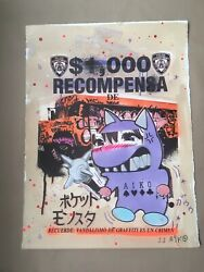 Lady Aiko Recompensa Special Edition Signed And Numbered Out Of 30