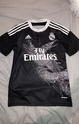 Real Madrid 2014-15 Third Away Shirt Jersey Sergio Ramos Excellent Condition