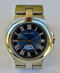 2004 New England Patriots Super Bowl Champs Championship Watch Not Ring Tourneau