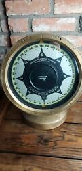Sperry Gyro Compass Repeater March 1919 Dodge Chrysler Brass With Stand