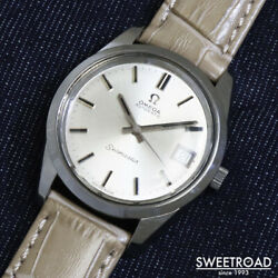 Omega Seamaster Ref.166.0172 Vintage Cal.1012 Automatic Mens Watch Auth Works