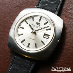 Schaffhausen Ref.r825a Vintage Cal.8541b Automatic Mens Watch Auth Works
