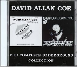 David Allan Coe- Complete Underground Collection - All 20 X Rated Hits Cd Allen