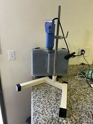Ika T18 Digital Mixer / Disperser With S25n-19g Dispersing Element Tool And Stand