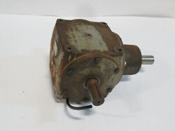 Hub City 0220-03906 Bevel Gear Drive Right Angle 800 11 A B Sp Used
