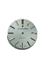 White Dial With Rose Markers For Audemars Piguet Royal Oak 15400or