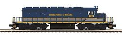 Mth Chesapeake And Indiana Sd40-2 No.6322 Diesel Premier 20-21167-1 Engine W/ps-3