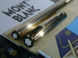 Mont Blanc-fountain-pens No1147 Noblesse Silver Near Mint F/s