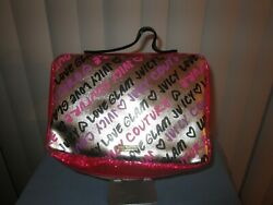 Juicy Couture Hanging Cosmetic Bag NEW $18.00