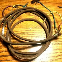 rare cloth covered mounting cord for antique phones not a repro