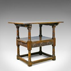 Antique Monkand039s Bench Metamorphic Table Chair English Oak C18th And Later