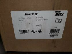 Taco 2400-70s-3p Stainless Steel Pump 1/2 Hp Part185-122 Modelzxm101050a