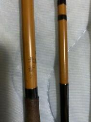 270 Cm Bamboo Rods Hera Rods With Bag From Japan Vintage Takezao Hokusai Rare