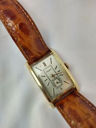 Longines Gold Filled Mens Vintage Watches