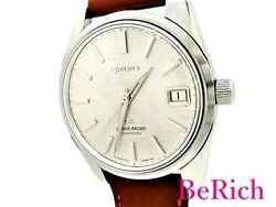 Grand Seiko 5722-9991 Antique Silver Dial Stainless Steel Menand039s Watch [b0307]