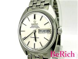Omega Constellation Cal751 168.196 Chronometer Automatic Ss Men's Watch [b0307]
