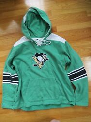 Gear For Sports Pittsburgh Penguins Embroidered Logo Xl Hooded Sweatshirt