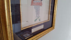Rare Collection Of Leon Bakst Prints - Lithograph Heightened In Watercolour Coa