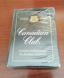 New Sealed Vintage Canadian Club Whiskey Playing Cards Deck