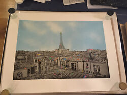 Nick Walker The Morning After Paris, Signed And Numbered