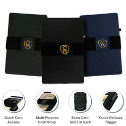 Smart Leather Wallet | Elite Collection | Rfid Blocking | Quick Card Release