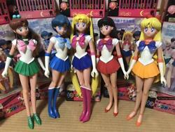 Used Pretty Guardian Sailor Moon Excellent Doll 5 Body Set 49cm With Box