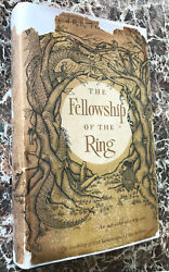 Fellowship Of The Ring 1965 First Us Edition, J.r.r.tolkienlord Of The Rings
