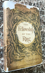 Fellowship Of The Ring 1965 First Us Edition J.r.r.tolkienlord Of The Rings