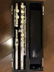 Used Central Elegante Pf-775e Flute Wind Instrument Pearl Flute With Case