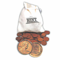 1 Pound Bag Of Lincoln One Cent Wheat Pennies
