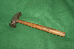 Collectible Antique Vintage Forged Cobblers Hammer W/ Original Handle Invmi01