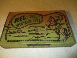 Vintage/plasco/toy/comprel/western/sets/horses/wagons/riders1950's/60's/new