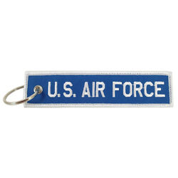 Us Air Force - Embroidered Keychain