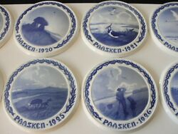 Bing And Grondahl Old Easter Plate Religious Porcelain Wall Plate