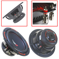 2x Cerwin Vega H7104d 2400w Max 10 Inch Hed Series Dual 4 Ohm Car Subwoofer