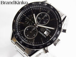 Tag Heuer Carrera Chronograph Cv201al Automatic Stainless Men's Watch [b0310]