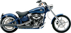 Cobra 3 Slip-on Black Mufflers With Tips For V-twin Sold As A Pair 6003b
