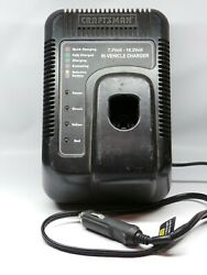 Craftsman 7.2 - 19.2 In Vehicle Battery Charger With 18 Volt Battery 12 V In