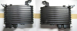 Mazda Genuine Oem Rx-7 Fd3s Left And Right Side Oil Cooler Core Set