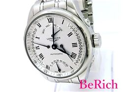 Longines Master Collection Retrograde L2.715.4.71.6 Menand039s Sb526 From Japan N0310