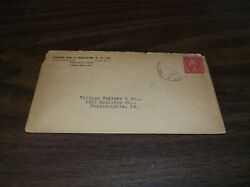 1928 Green Bay And Western Gbandw Used Company Envelope Soo Ashland And Spencer Rpo