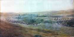 Laton A Huffman / Throwing Rangers To The Round-up Big Dry Montana Signed 1907
